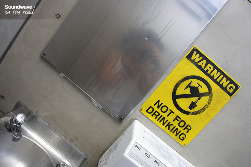 Dans l'outback, mieux vaut avoir ses propres réserves d'eau