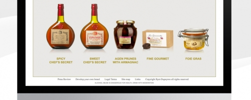 Web Design For A Wine & Spirit Merchant