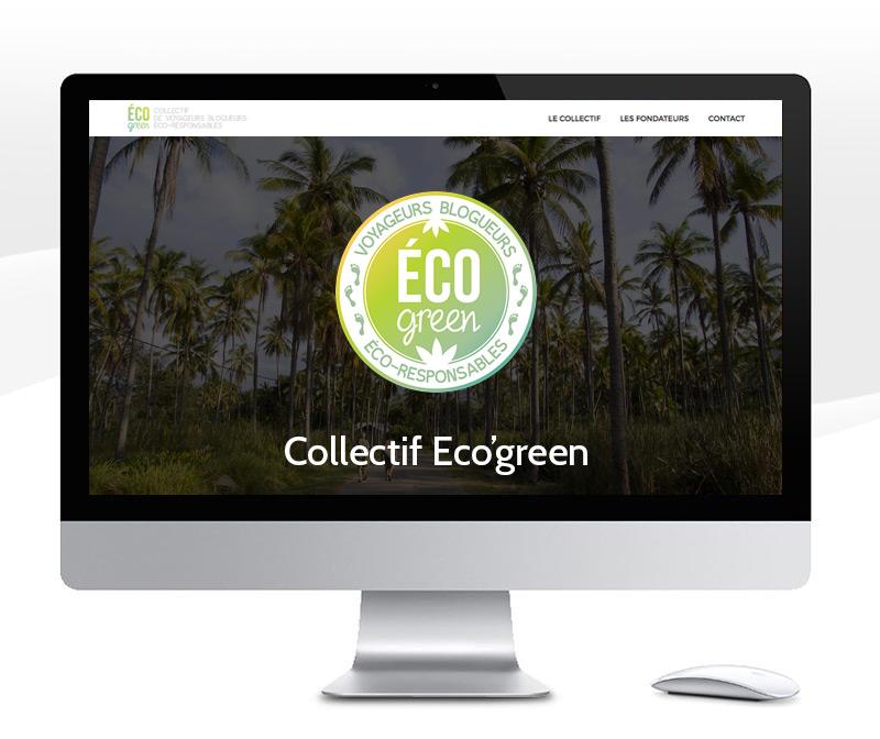 Création de l'identité visuelle et du site internet d'un collectif de blogueurs / Brand identity & web design for a travel community