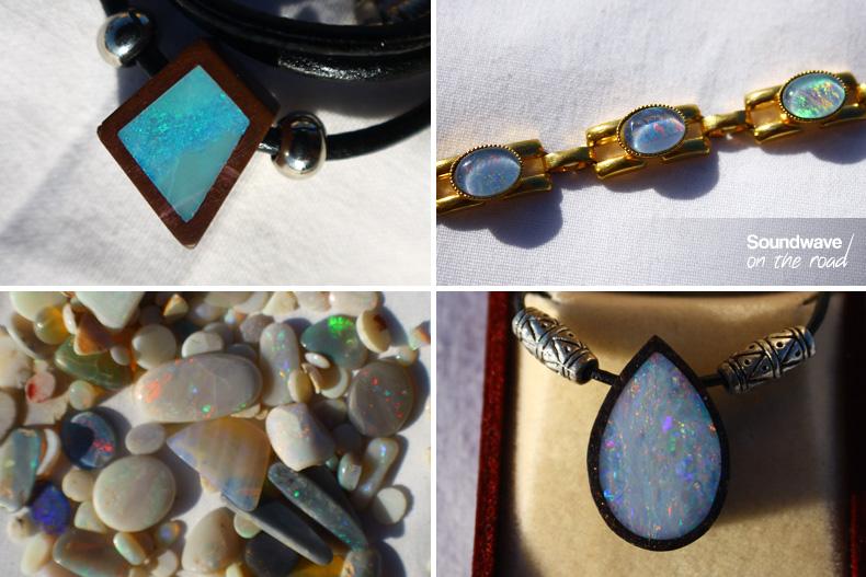Opales, pierres précieuses et bijoux australiens