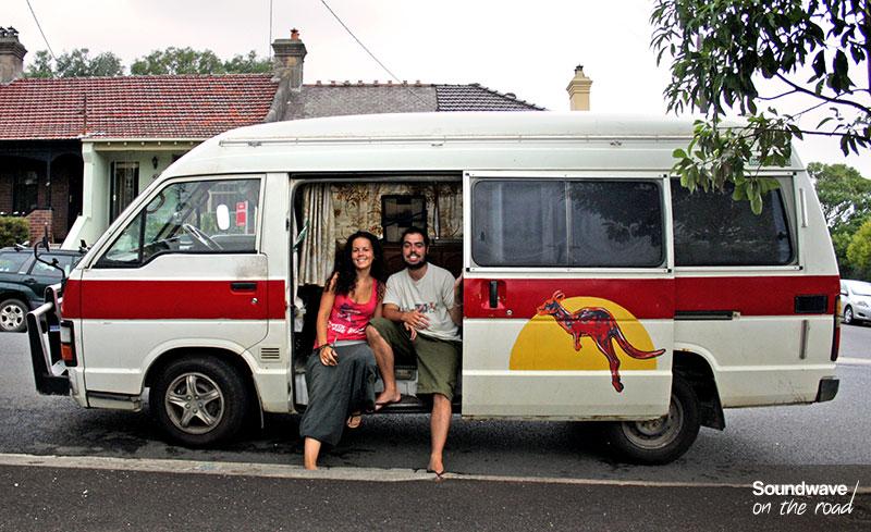 Backpacker et campervan en Australie