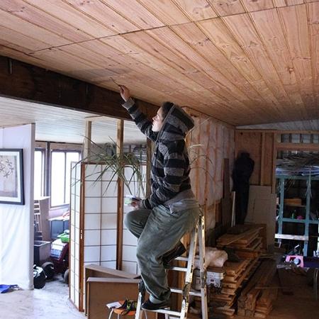 Volontariat Et Bricolage Sur Plafond