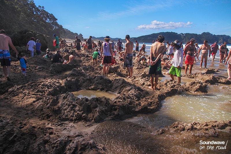 Sources chaudes en Nouvelle Zélande