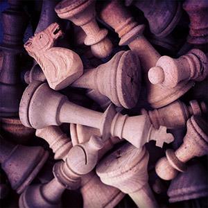 Wooden chest pieces