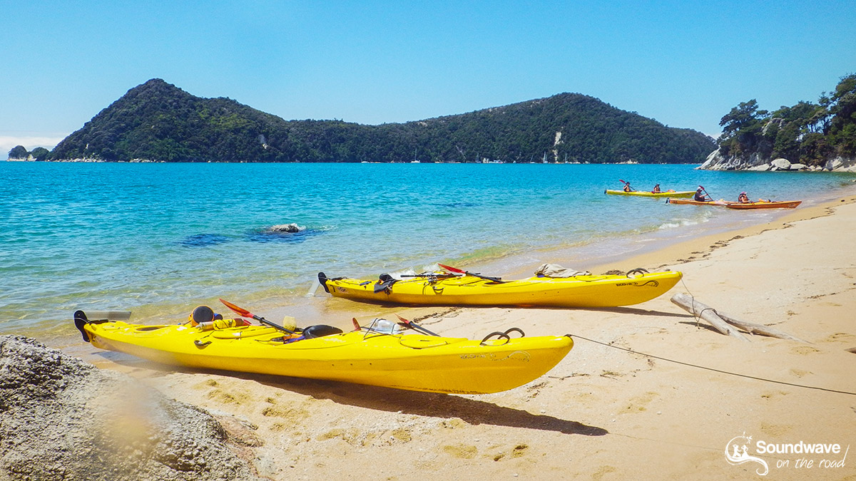 Kayak time in Abel Tasman, New Zealand