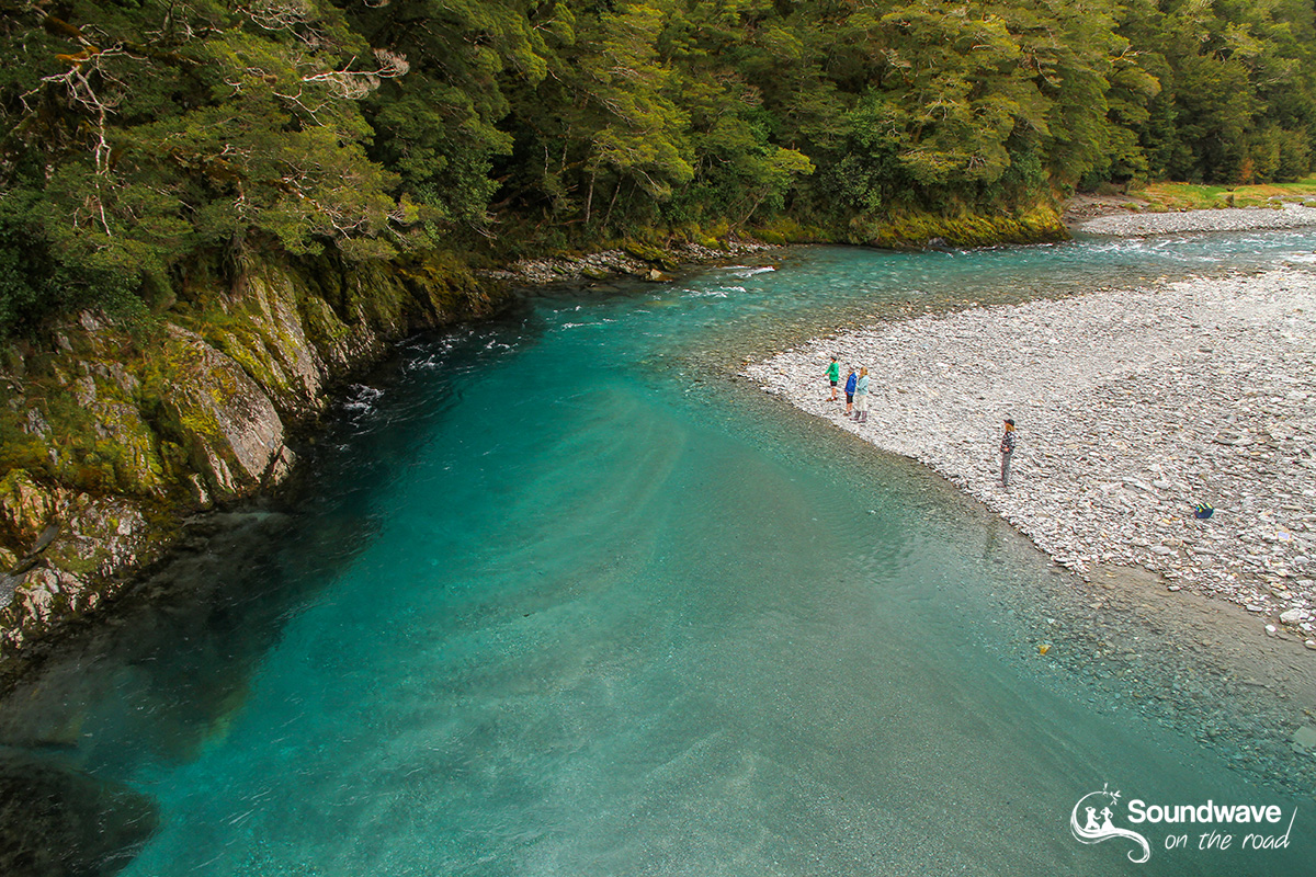 Blue Pools, Haast, New Zealand