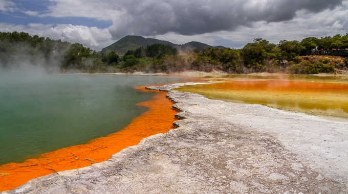 Champagne Pool, Wai O Tapu, Rotorua, New Zealand