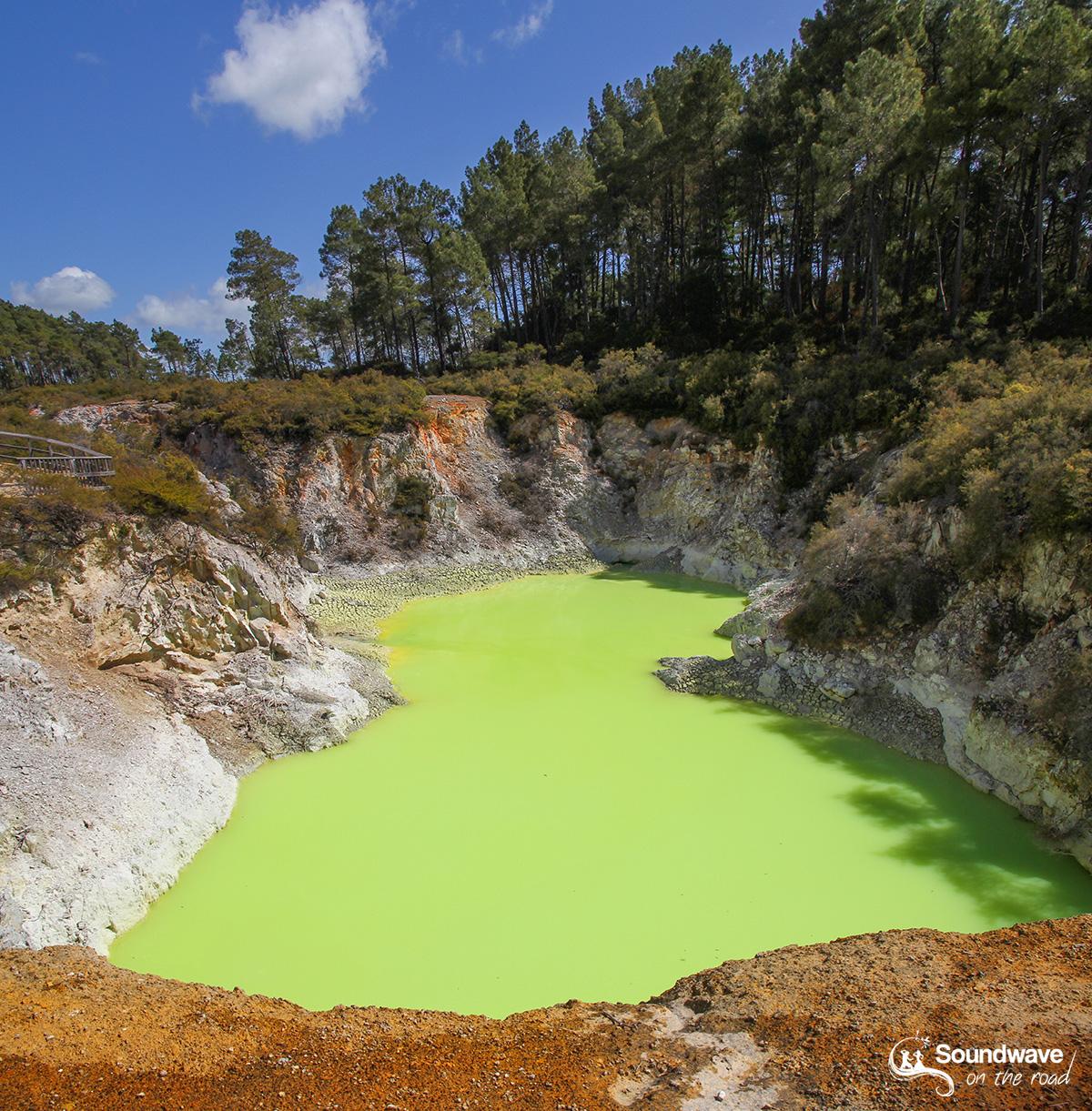 Devil's Bath, Wai O Tapu, Rotorua, New Zealand