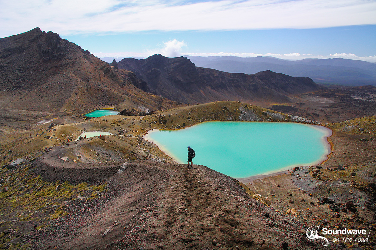Tongariro Crossing in summer, New Zealand