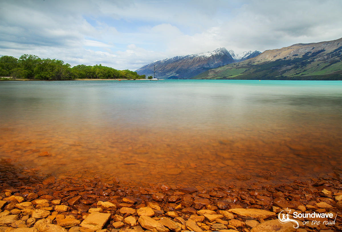 Wakatipu Lake, Glenorchy, New Zealand