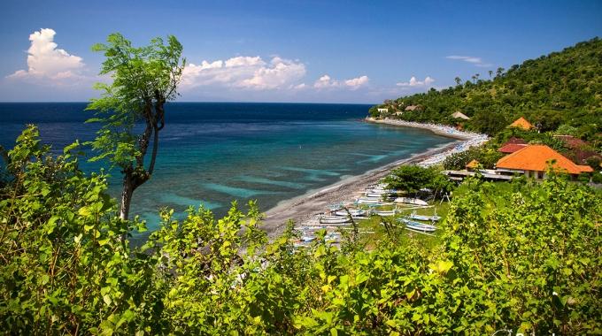 Amed, Bali, Indonésie