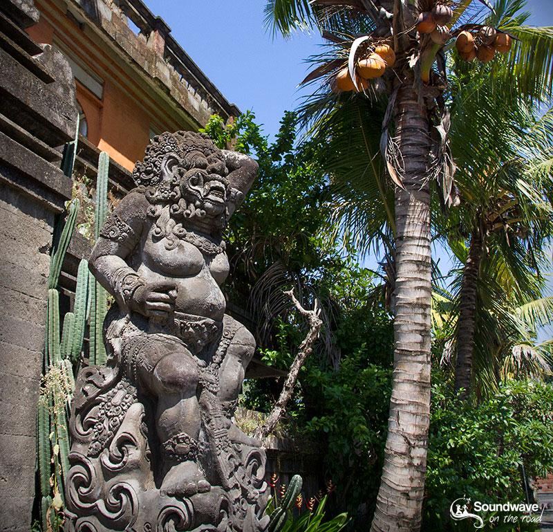 Hindu statue in Bali