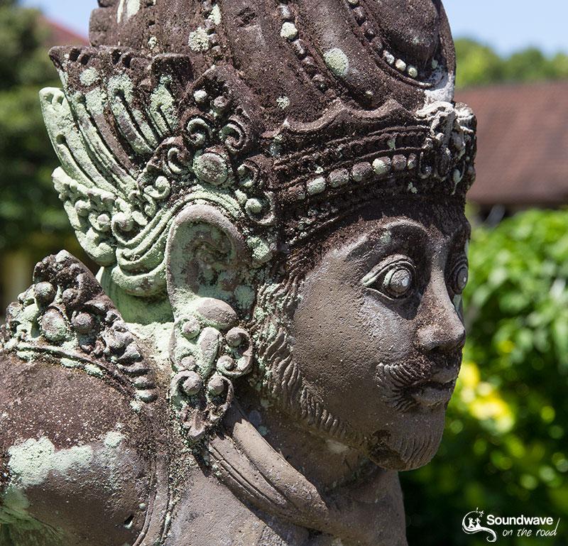 God statue in Bali