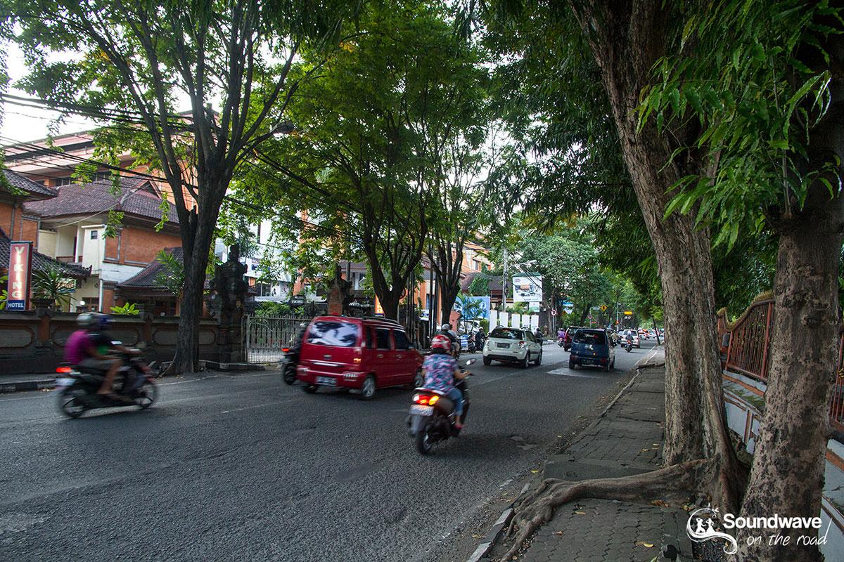 Street of Denpasar