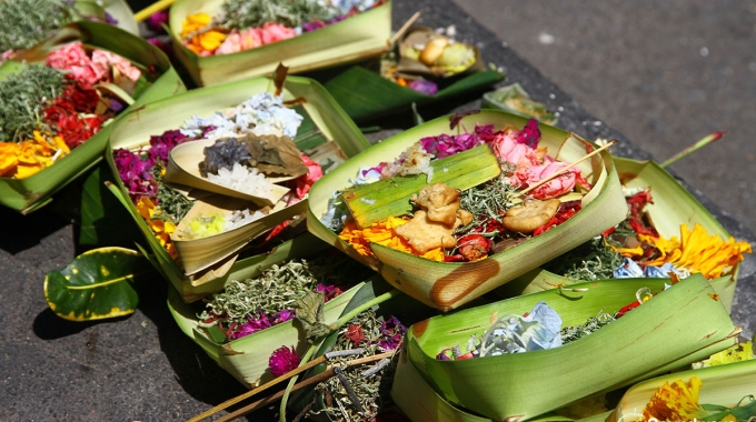 Offerings In Bali