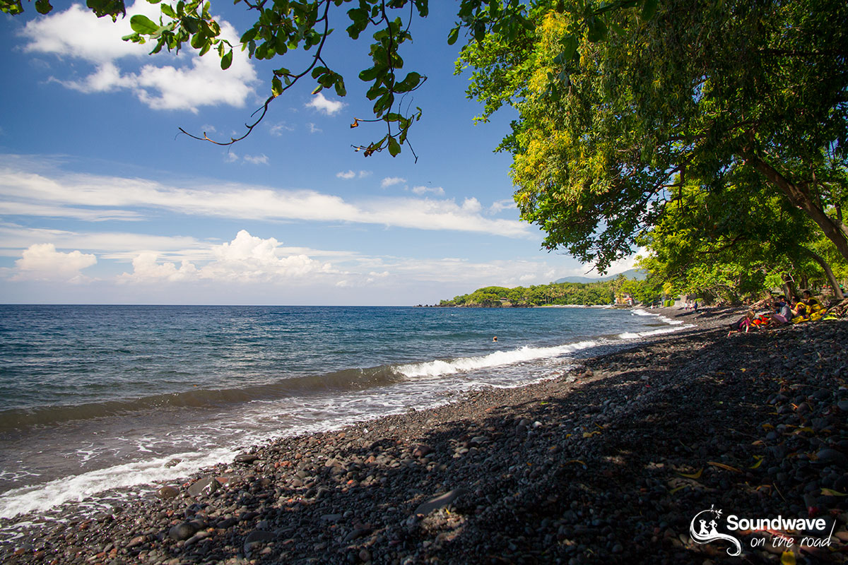 Tulamben beach in Bali