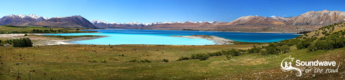 Lake Tekapo, Mt John observatory,New Zealand