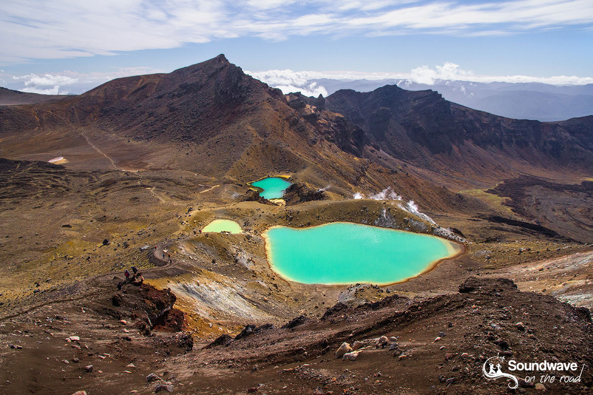 Tongariro Crossing, Emerald Lakes, New Zealand