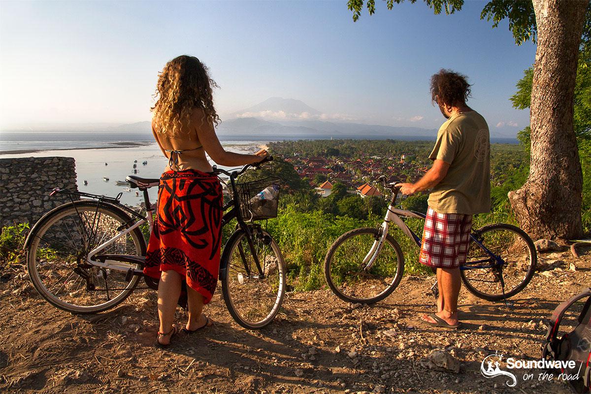Biking in Nusa Lembongan