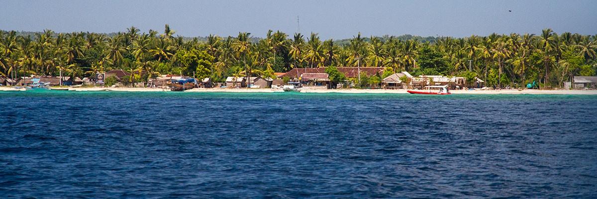 Paradise island of Nusa Lembongan