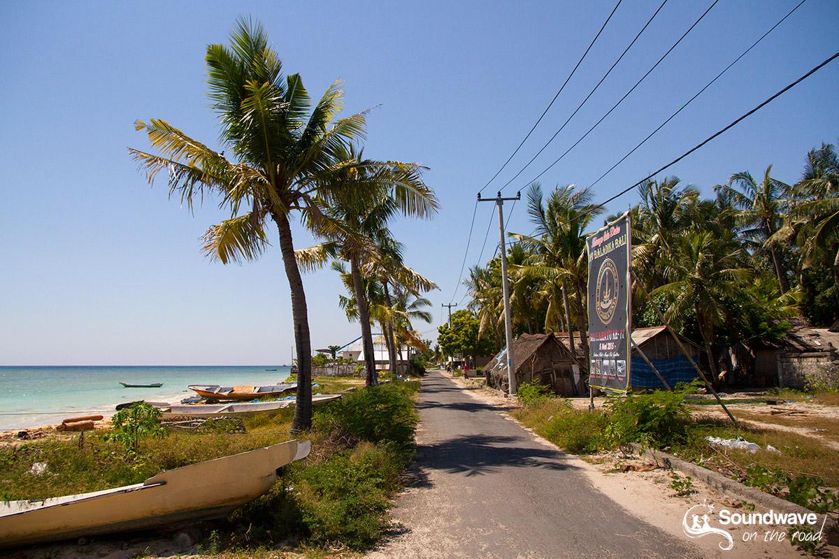 Mangrove road, Nusa Lembongan