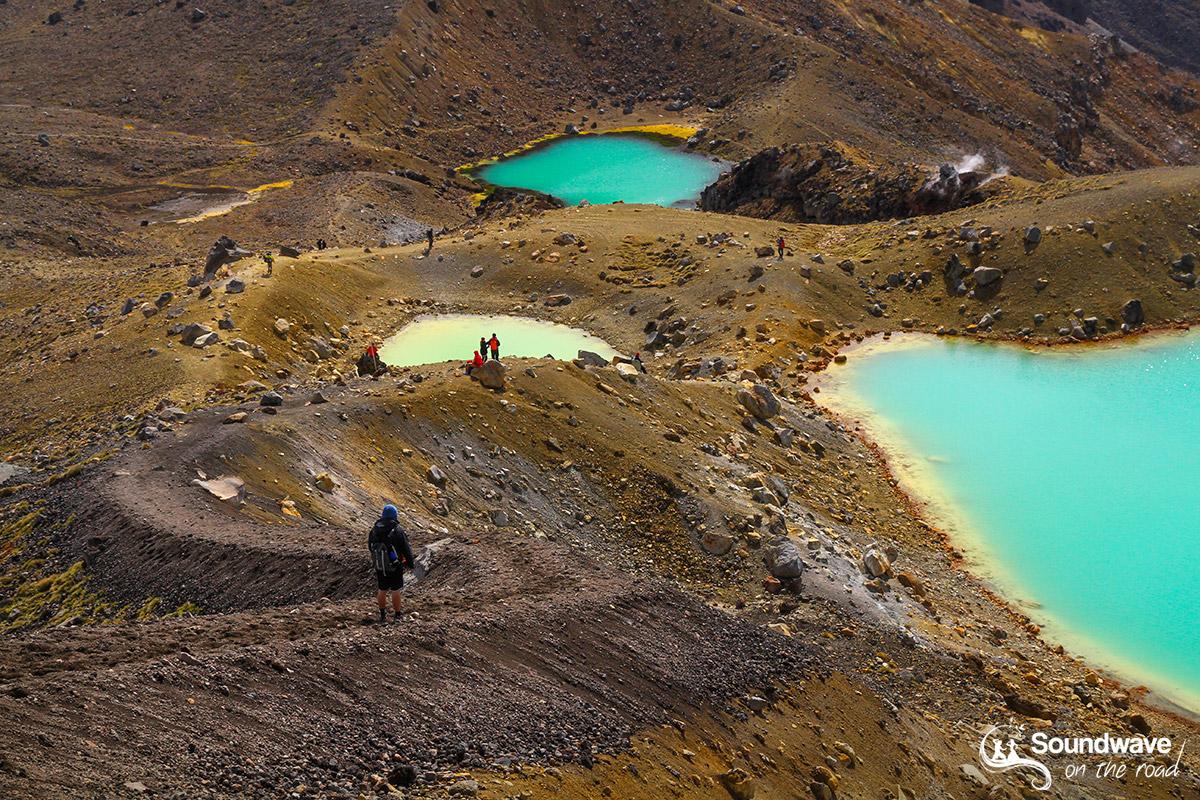 Les lacs émeraude, paysage immanquable en Nouvelle Zélande