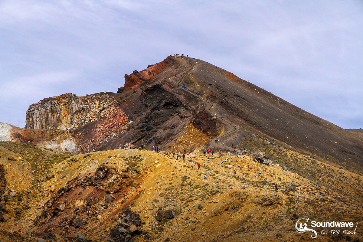 Red Crater Summit