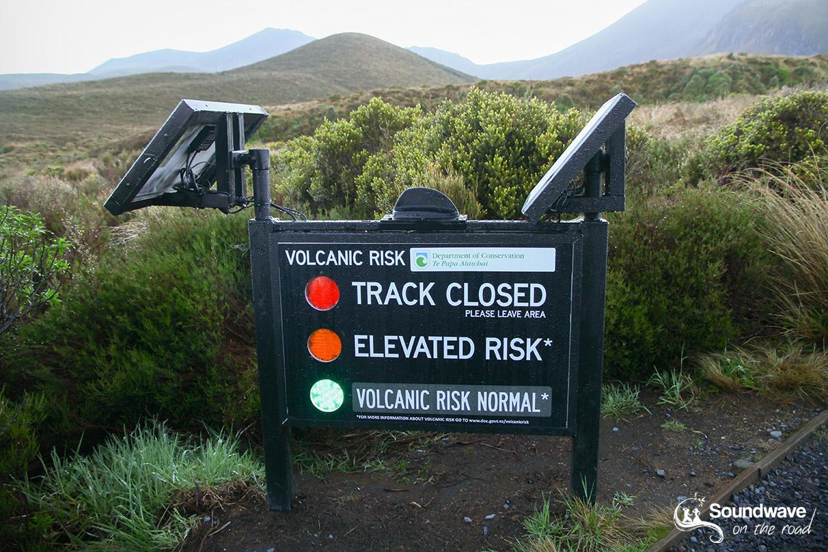 Tongariro Volcanic Risk