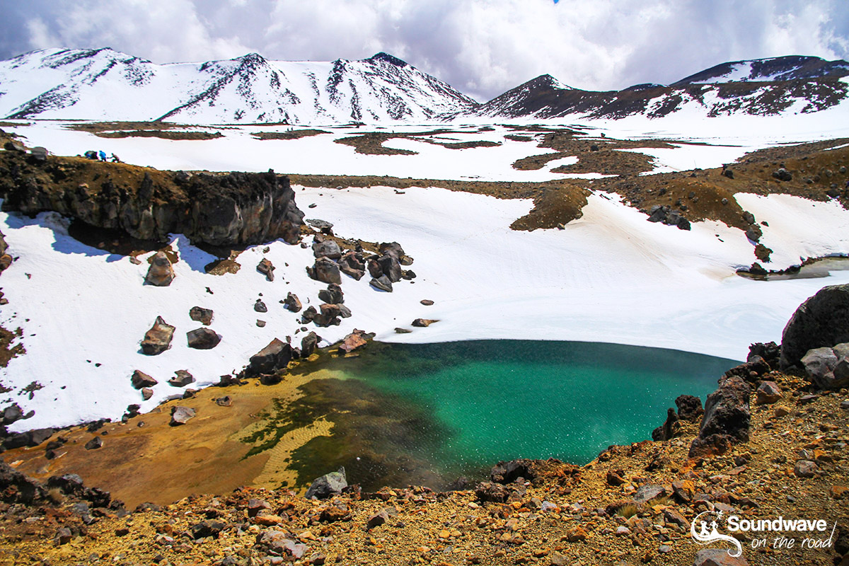 Tongariro Alpine Crossing in Spring