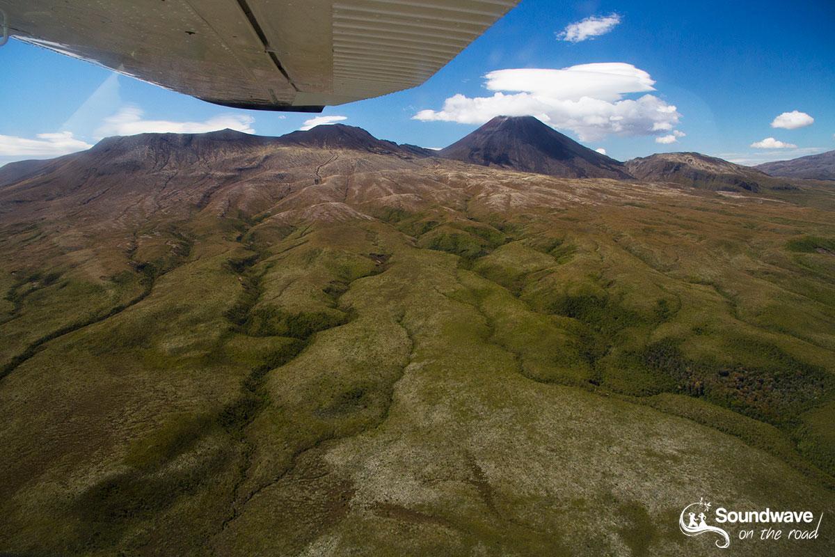 Tour en avion au dessus du Parc National Tongariro