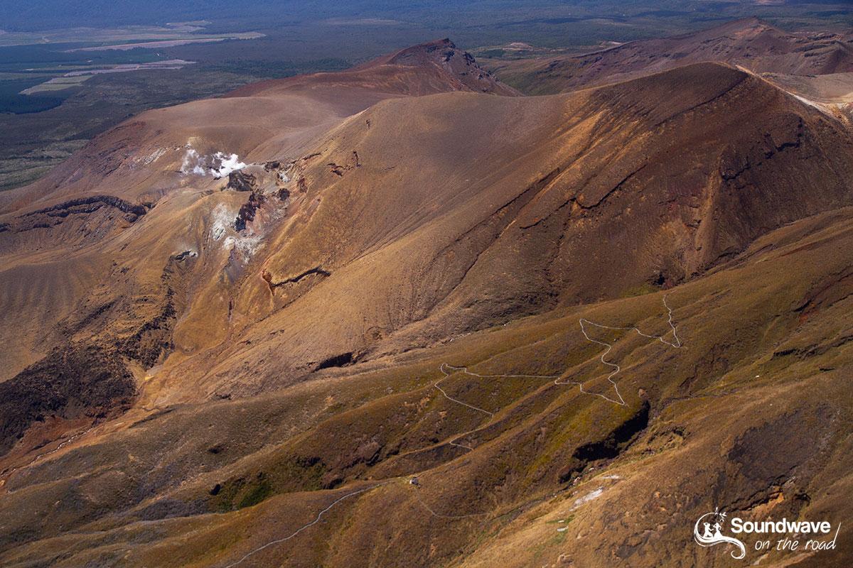 Survoler le Tongariro National Park