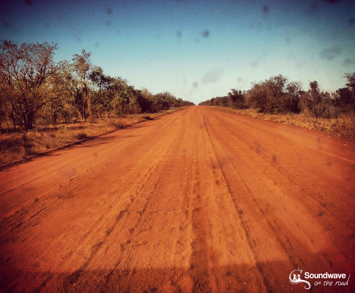 No outback without a dirt road