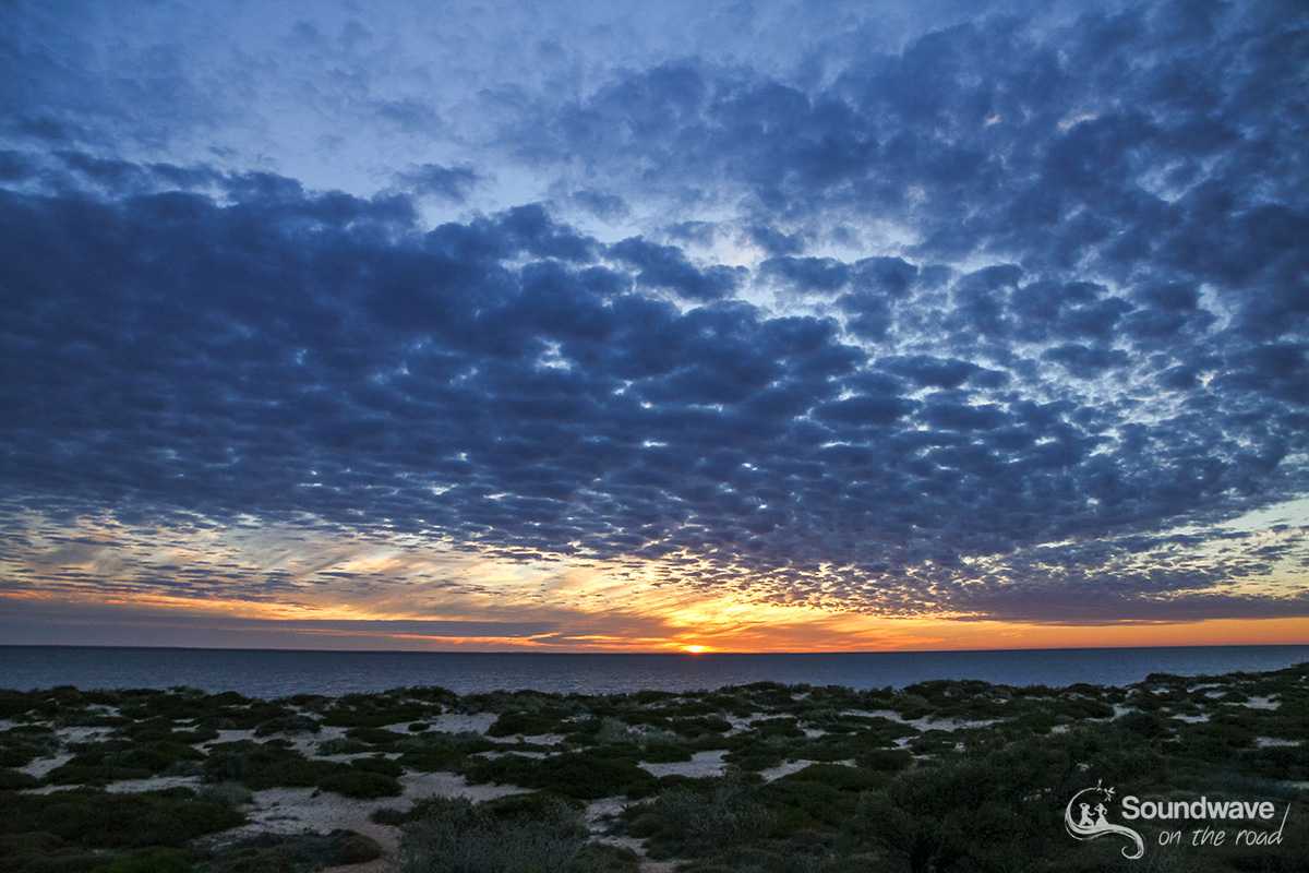 Sunset in Shark Bay, Western Australia