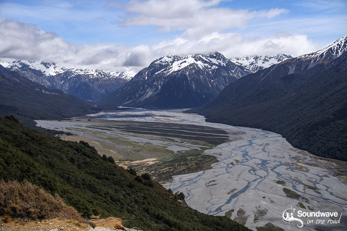 Waimakariri River Valley, Arthur's Pass