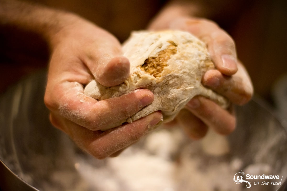 Comment faire du pain en voyage