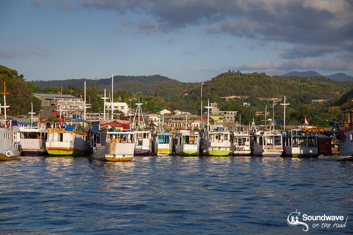 Port de Labuan Bajo à Flores