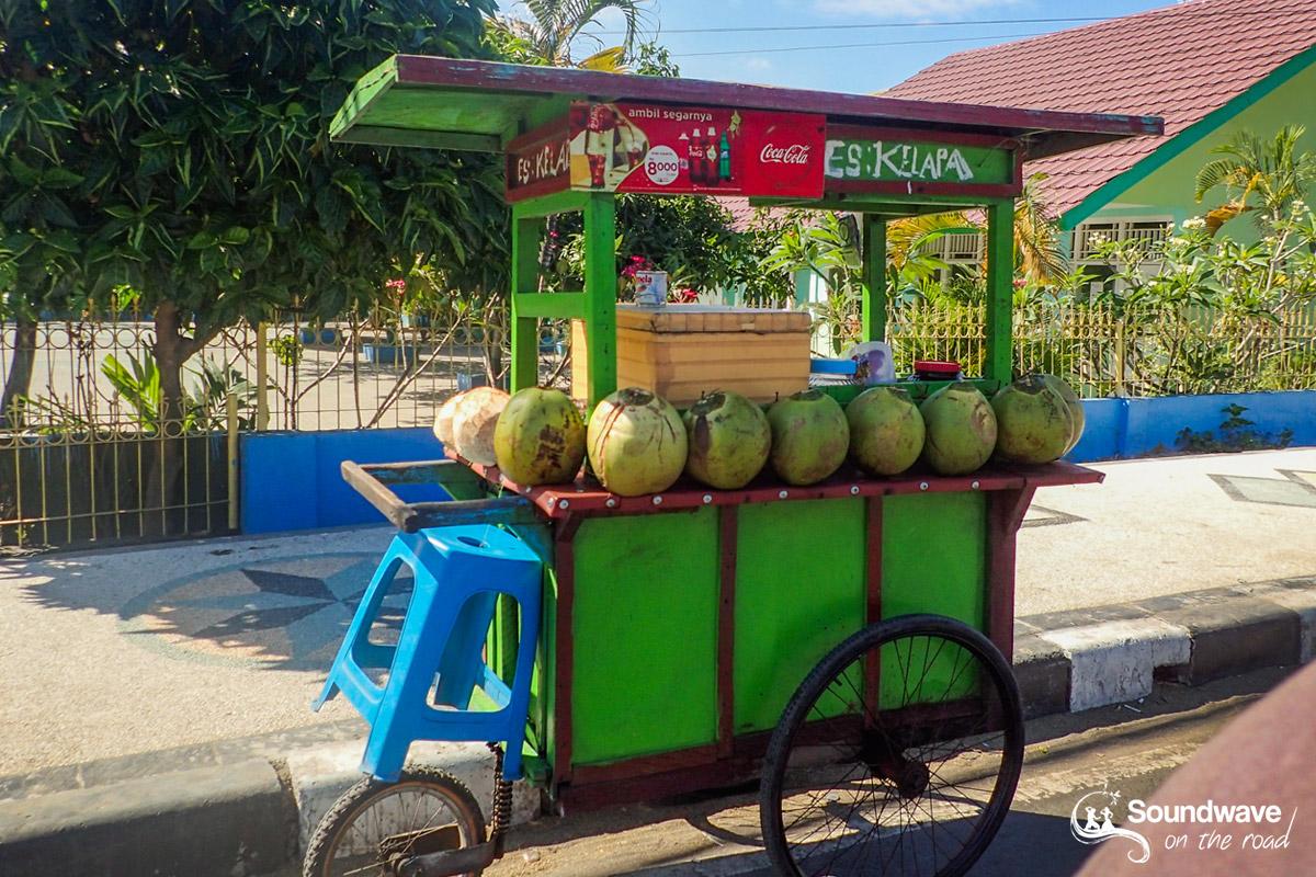 Marché ambulant à Lombok