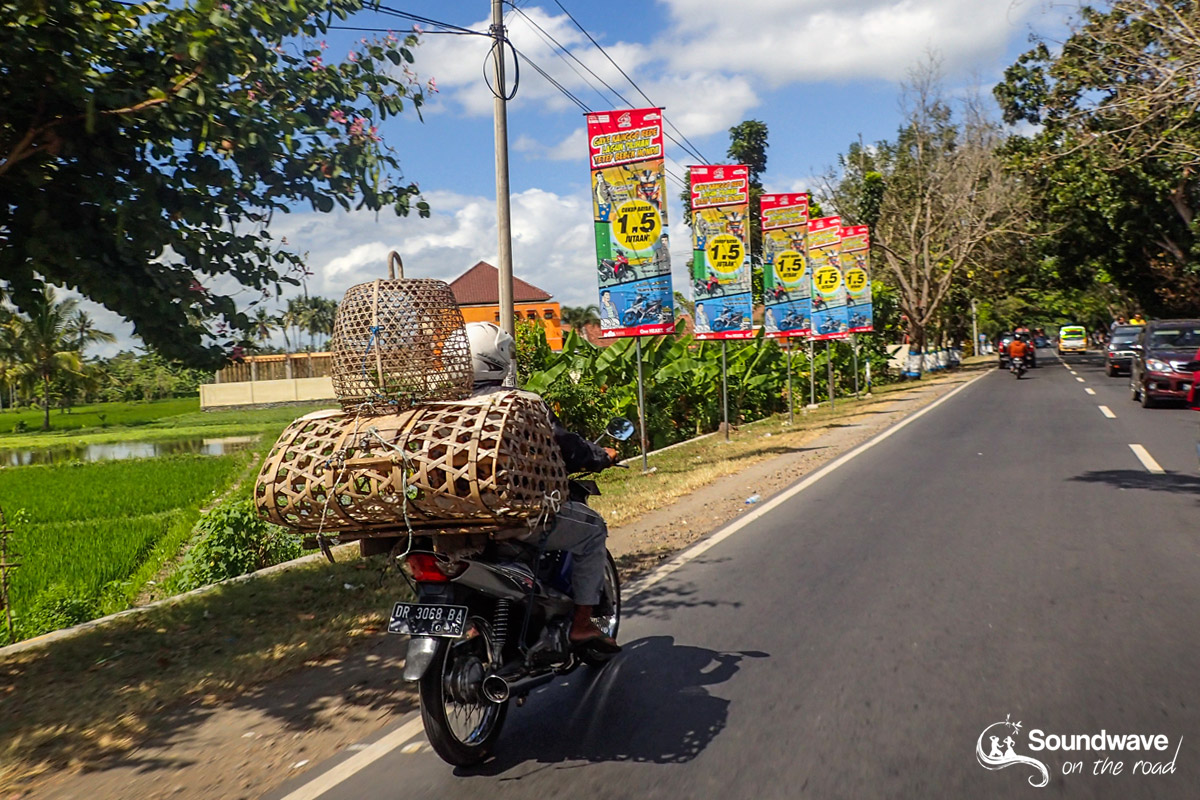 Les rues de Mataram