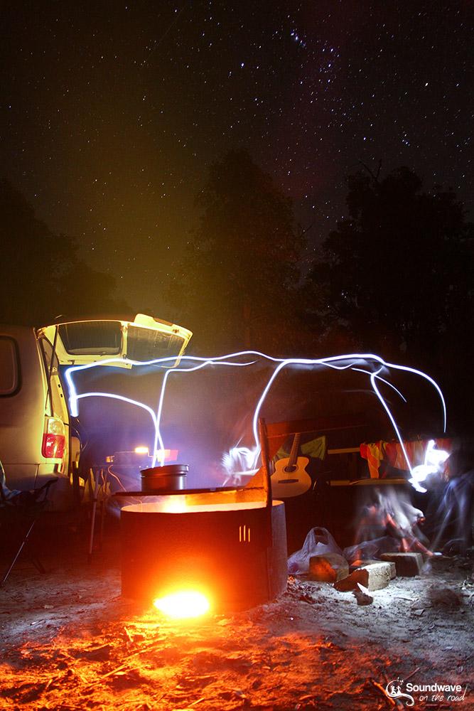 Camper en Australie