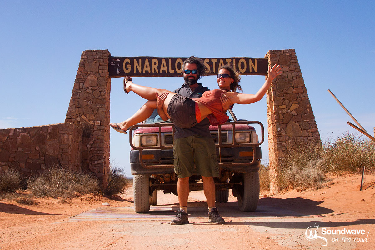 Soundwave on the road - Gnaraloo Arch