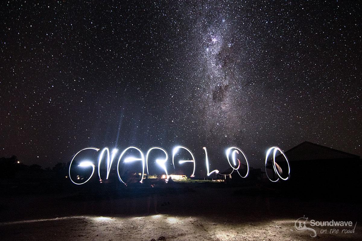 Voie lactée à Gnaraloo en Australie