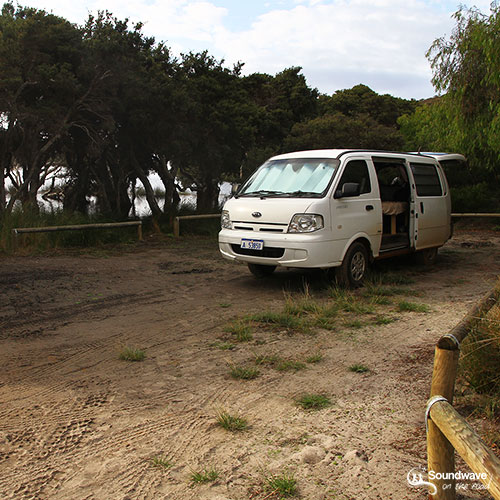 Camper à Albany en Australie