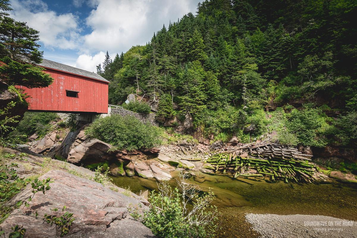 Point Wolfe, parc national de Fundy au Nouveau Brunswick