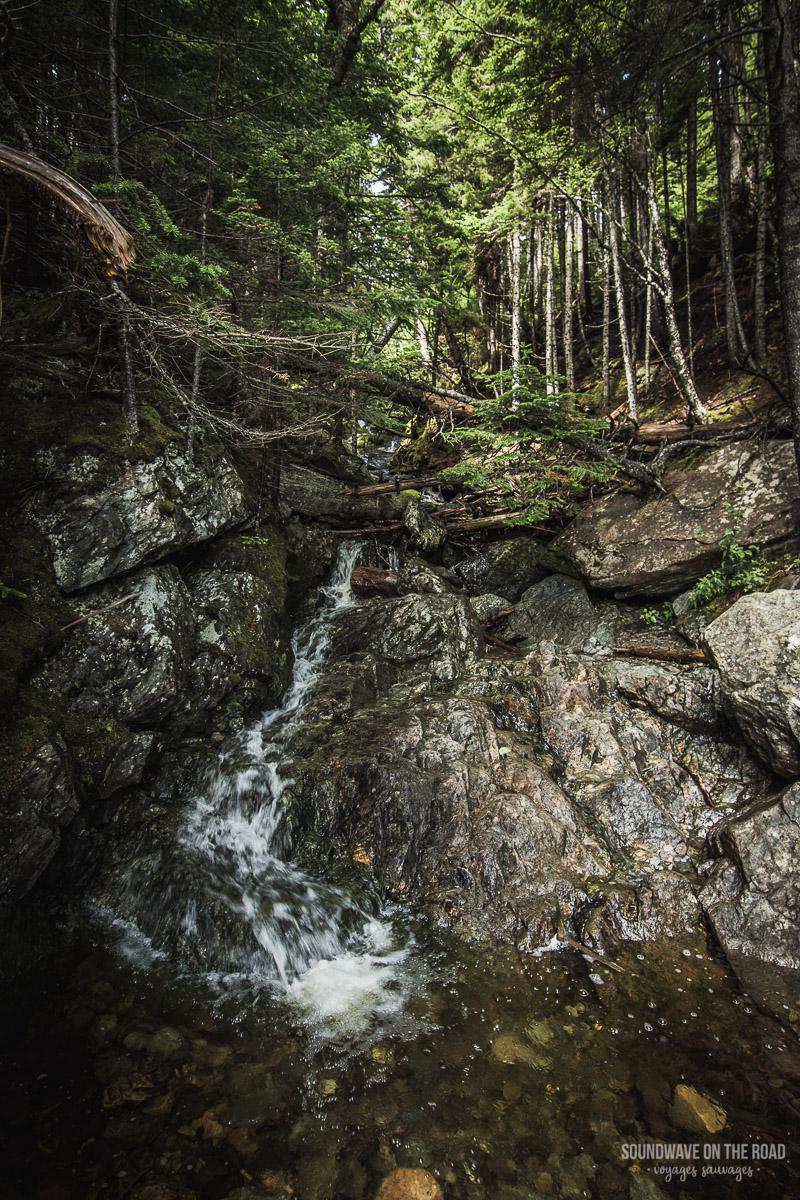Waterfall - Fundy National Park - New Brunswick