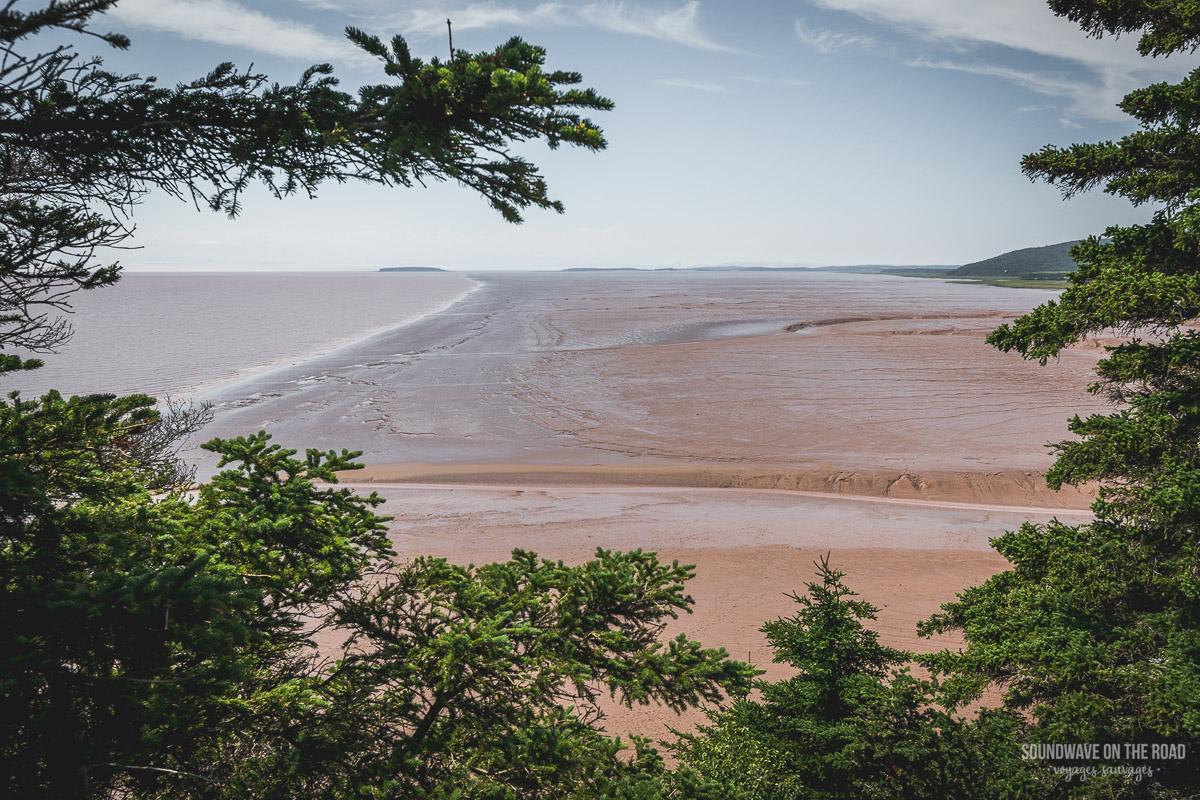 Les marées dans la Baie de Fundy
