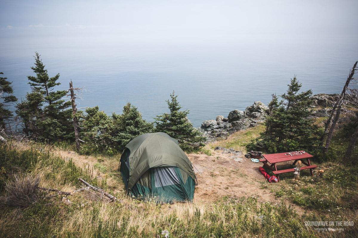 Camper lifestyle - Bivouac au Nouveau Brunswick