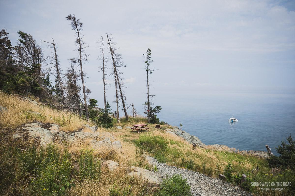 Randonnée sur l'île Grand Manan au Nouveau Brunswick
