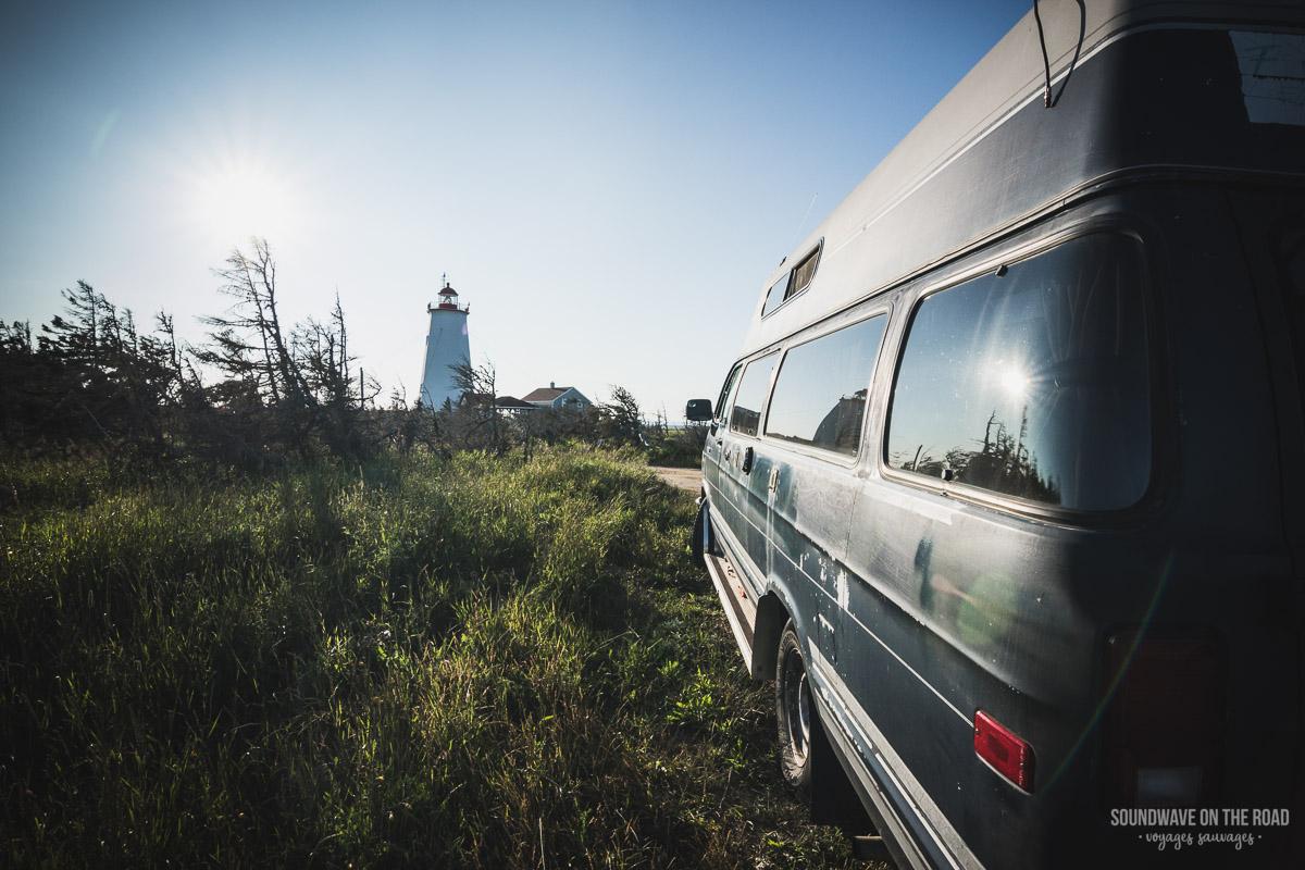 Île Miscou, péninsule Acadienne, Nouveau Brunswick, Canada