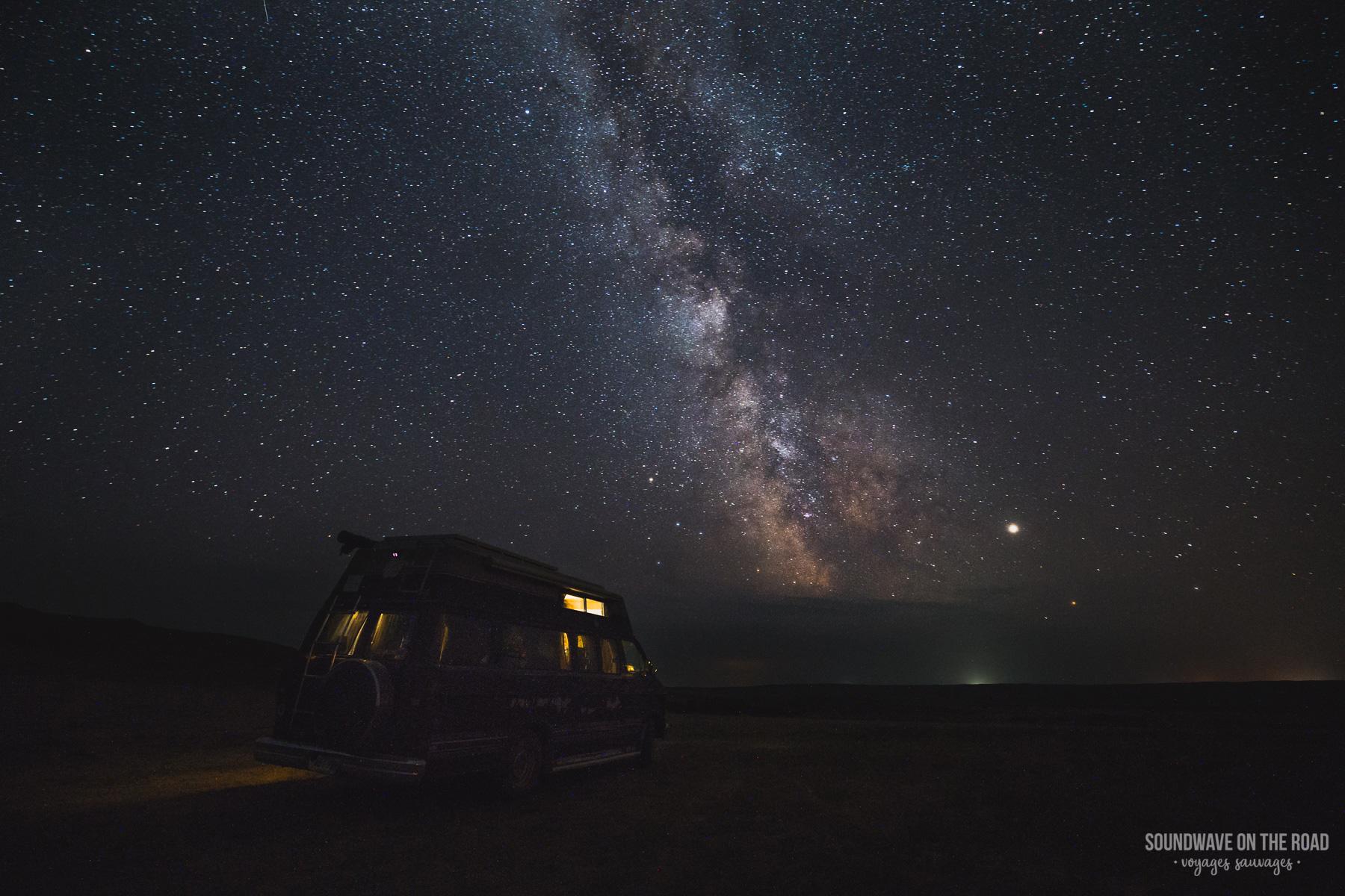 Observer la voie la lactée dans le Saskatchewan