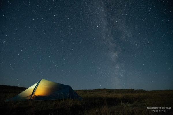 Astrophotographie Dans Le Parc National Des Prairies